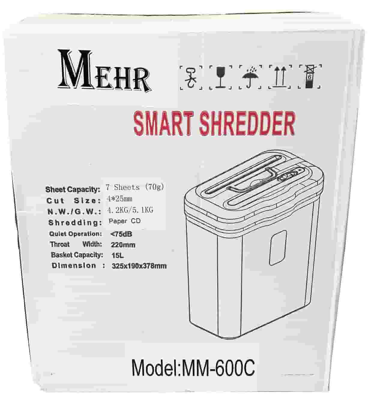 کاغذ خردکن مهر MM-600C