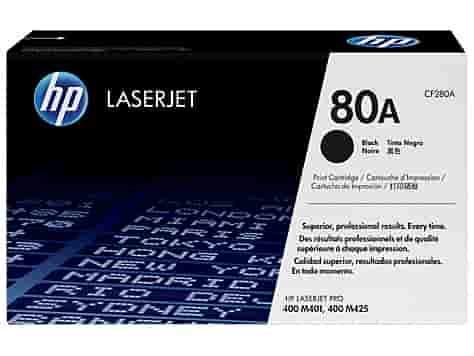 تونر کارتریج طرح HP 80A