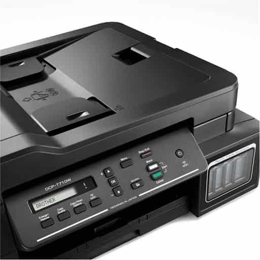 دستگاه پرینتر جوهرافشان سه کاره مدل DCP-T710W